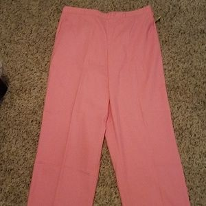 Women's Alfred Dunner Pink pants